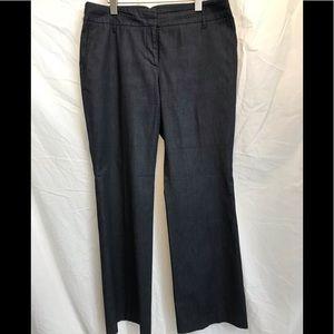 LOFT Ann Taylor light denim trouser pants
